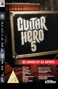 Guitar Hero 5 (Game Only) for PS3 to rent