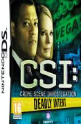 CSI Crime Scene Investigation Deadly Intent for NINTENDODS to buy