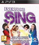 Everyone Sing for PS3 to rent