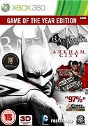 Batman Arkham City Game Of The Year Edition for XBOX360 to rent