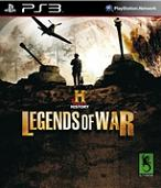History Legends Of War for PS3 to rent