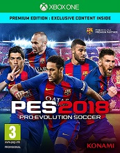 PES 2018 (Pro Evolution Soccer 2018) for XBOXONE to rent