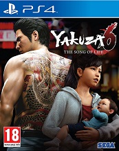 Yakuza 6 The Song of Life for PS4 to rent
