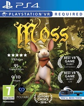 Moss for PS4 to rent