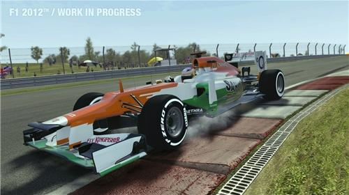 F1 2012 for XBOX360 to Rent