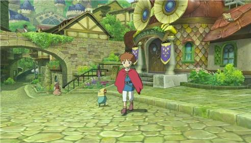 Ni No Kuni Wrath of the White Witch for PS3 to Rent