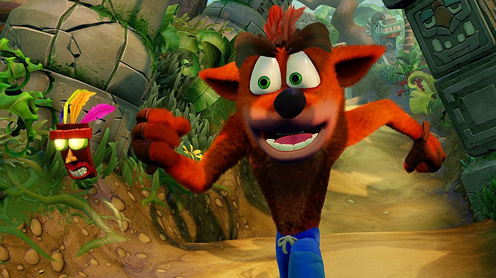 Crash Bandicoot N Sane Trilogy  for PS4 to Rent