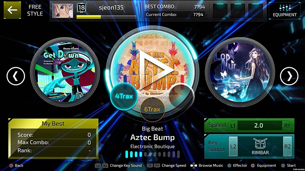 Superbeat Xonic EX  for PS4 to Rent