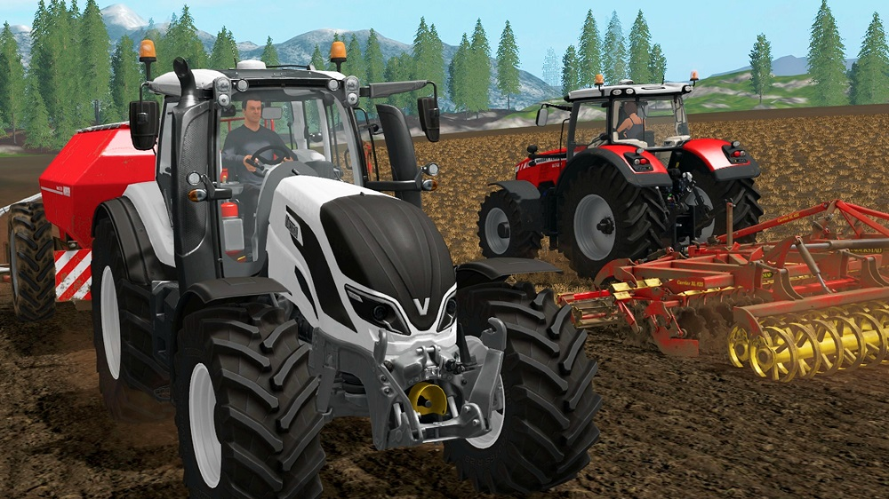(Switch) Farming Simulator for WIIU to Rent