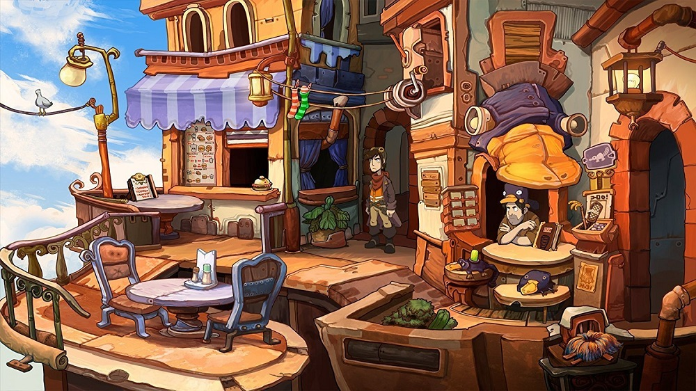 Chaos on Deponia for PS4 to Rent
