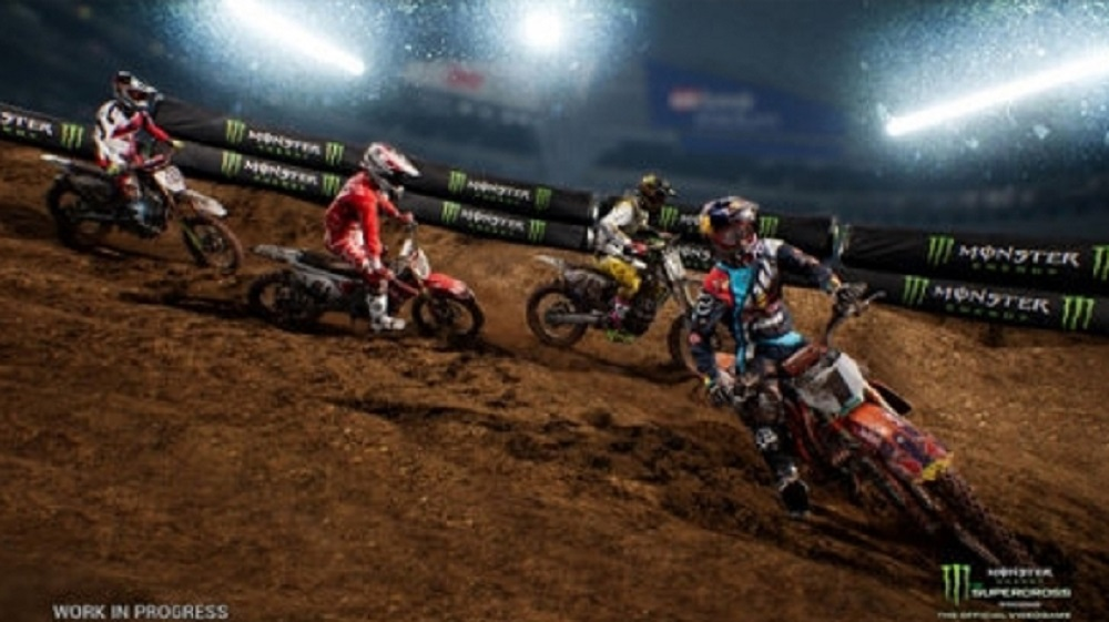 Monster Energy Supercross The Official Videogame for PS4 to Rent