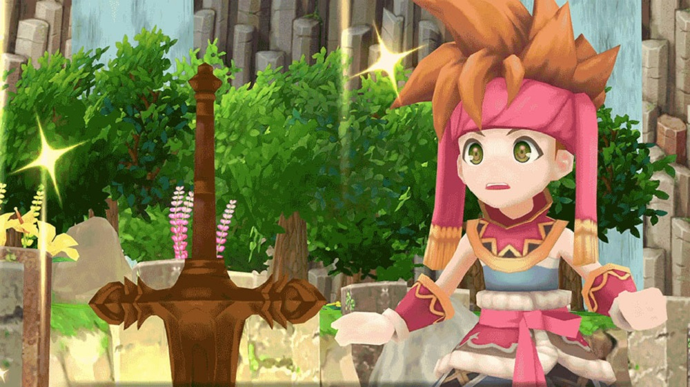 Secret of Mana for PS4 to Rent