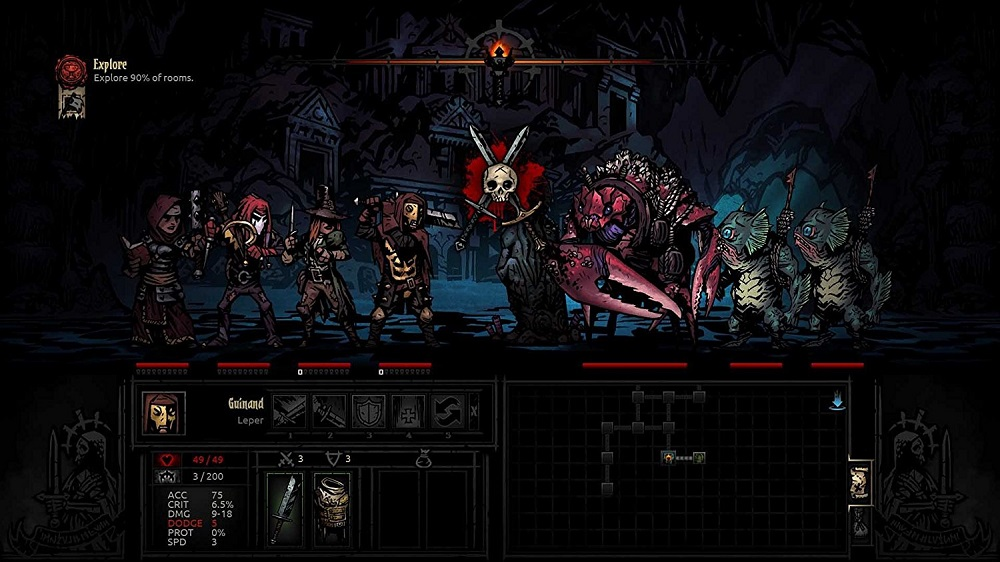 Darkest Dungeon Ancestral Edition for SWITCH to Rent