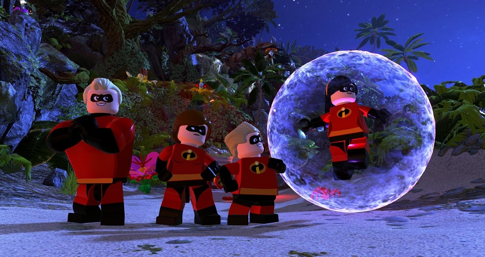 LEGO The Incredibles for PS4 to Rent