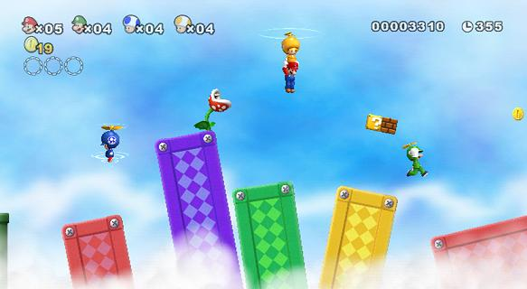 New Super Mario Bros for NINTENDOWII to Rent