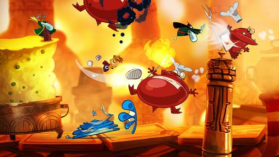 Rayman Origins for NINTENDOWII to Rent