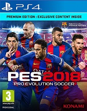 PES 2018 (Pro Evolution Soccer 2018) for PS4 to rent
