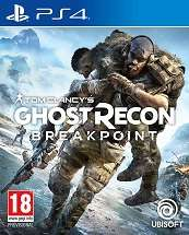 Tom Clancys Ghost Recon Breakpoint  for PS4 to rent