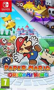 Paper Mario The Origami King for SWITCH to rent
