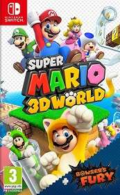 Super Mario 3D World and Bowsers Fury for SWITCH to rent