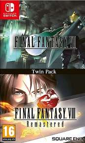 Final Fantasy VII and Final Fantasy VIII Remastere for SWITCH to rent