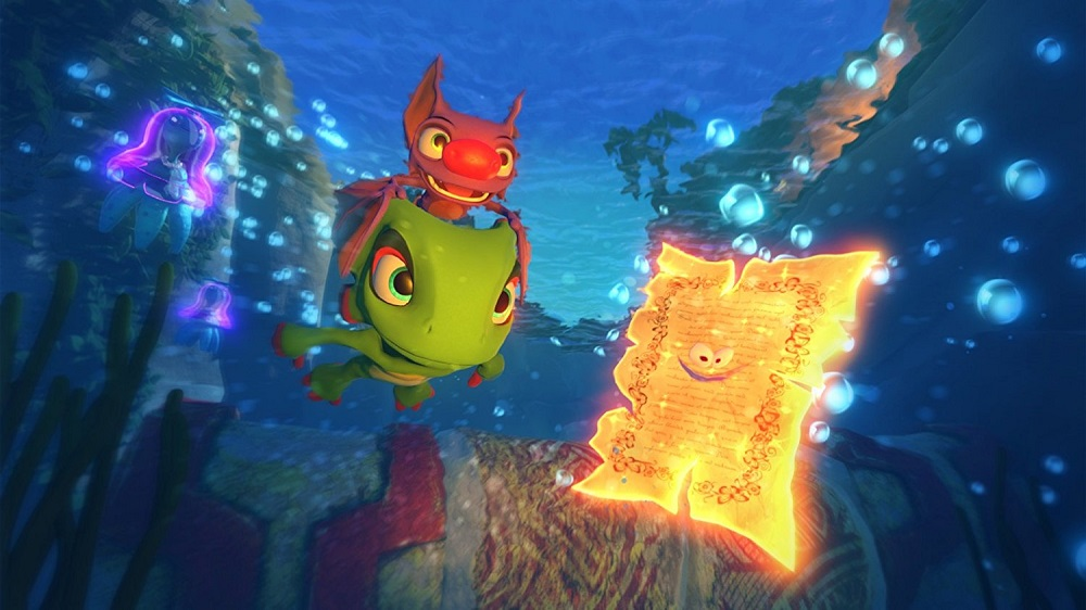 Yooka Laylee for PS4 to Rent