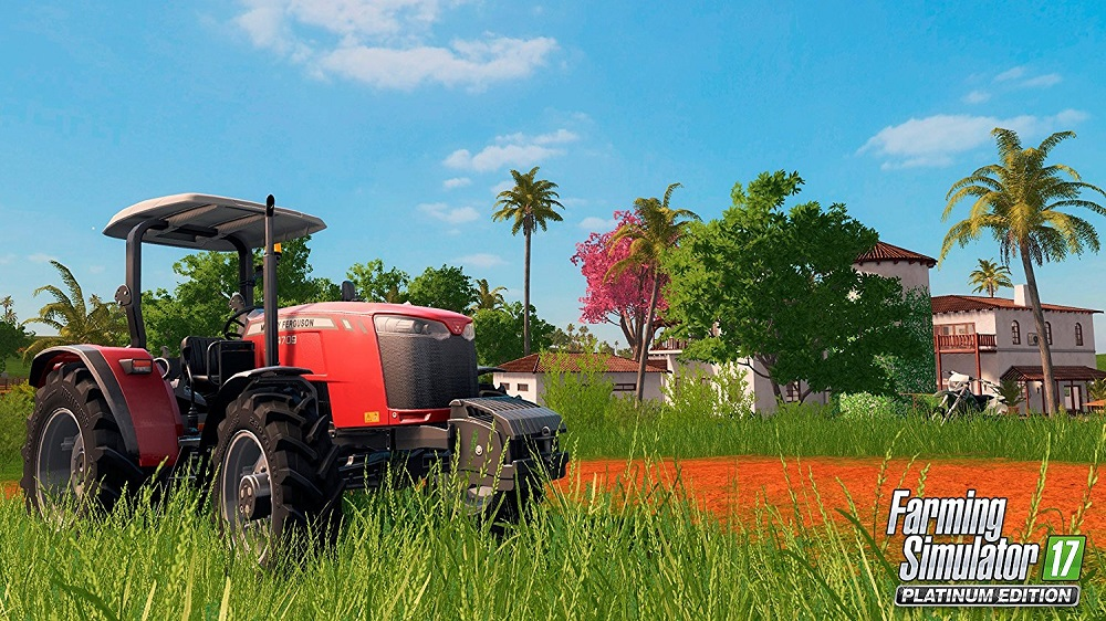 Farming Simulator 17 Platinum Edition for PS4 to Rent