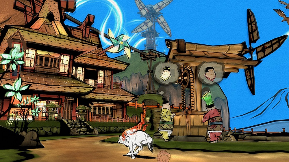 Okami HD for PS4 to Rent