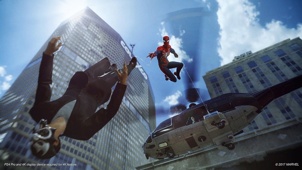 Marvel Spider Man for PS4 to Rent