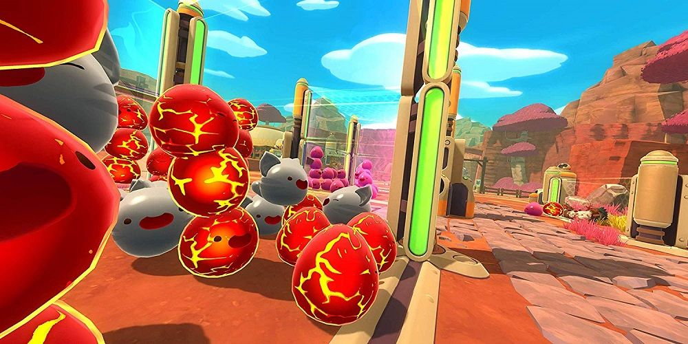 Slime Rancher for PS4 to Rent