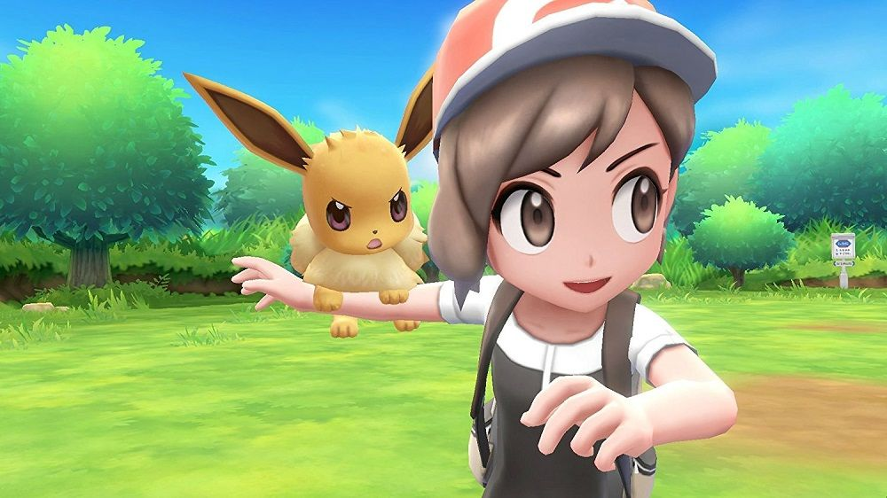 Pokemon Lets Go Eevee for SWITCH to Rent