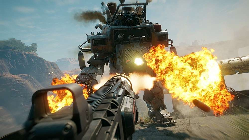 Rage 2 for PS4 to Rent