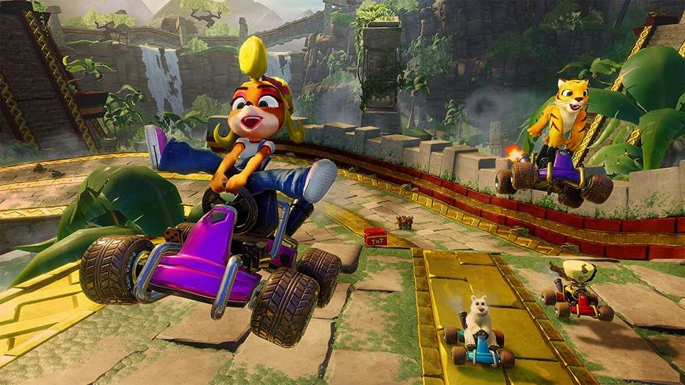 Crash Team Racing Nitro Fueled for PS4 to Rent