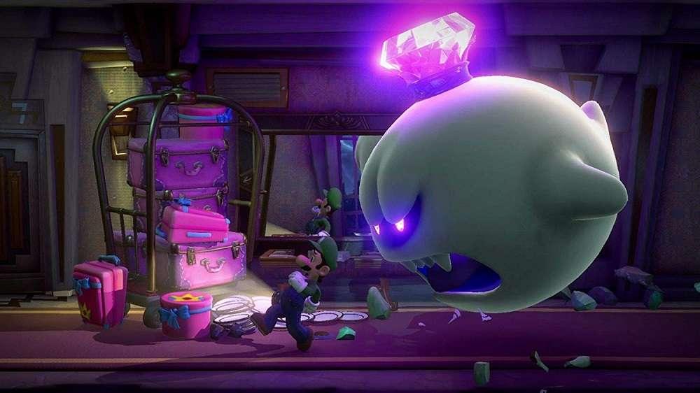 Luigis Mansion 3 for SWITCH to Rent
