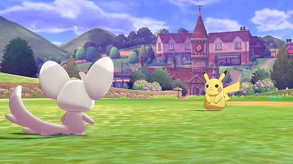 Pokemon Sword for SWITCH to Rent